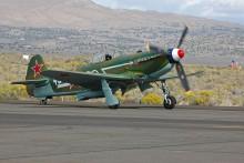 Replika stroje Jak-9U