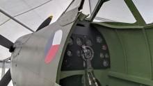 Rytíři nebes, replika Spitfire