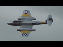 Embedded thumbnail for Gloster Meteor T7 WA591 na RIAT 20. července 2013