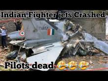 Embedded thumbnail for Pilot zemřel po srážce dvou cvičných stíhaček v Indii